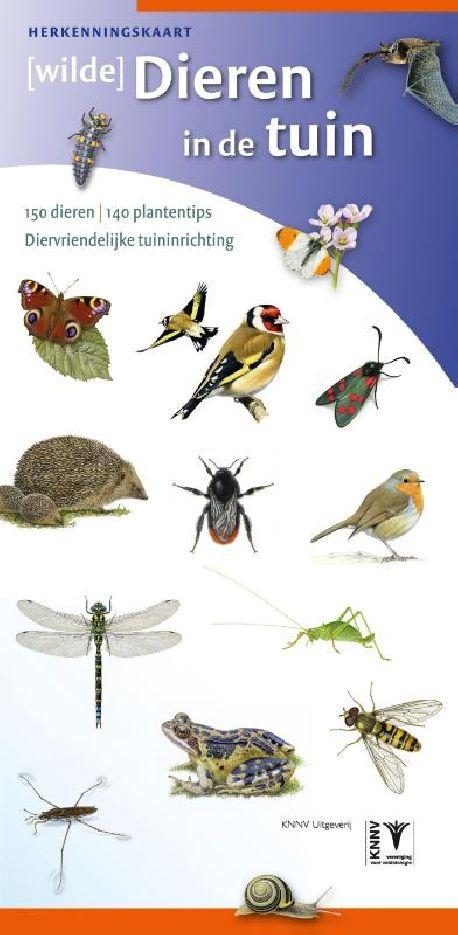 Herkenningskaart [wilde] Dieren in de tuin